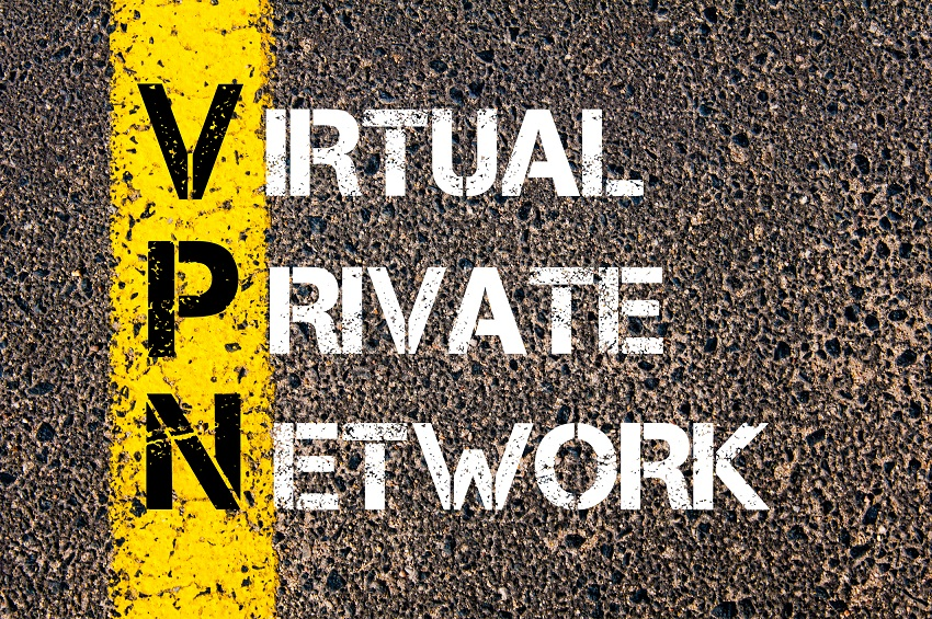 Business Acronym VPN as Virtual Private Network
