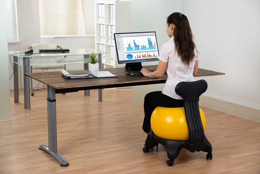 These Giant Inflatable Help Boost Your Core Muscles Which Over A Long Period Of Time Can Reduce Back Pain The Balance Also
