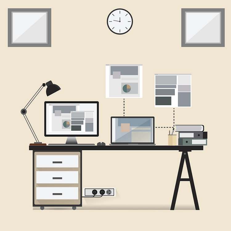 6 ways to make your home office more professional