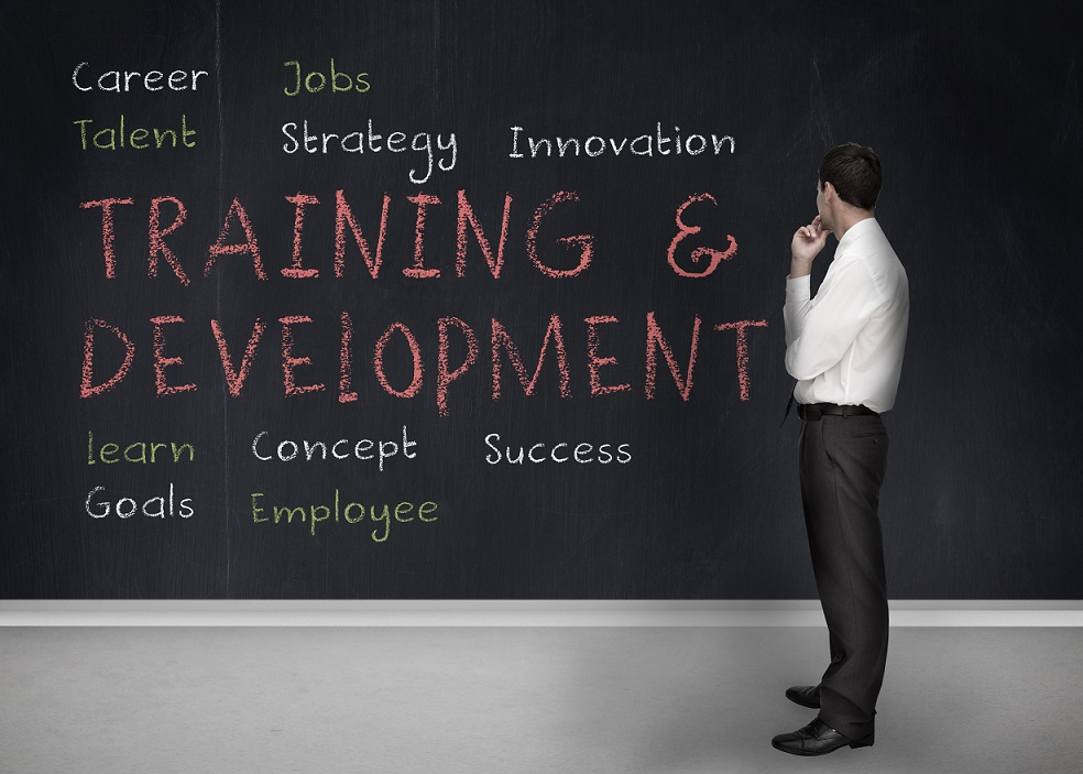 How to receive training while working freelance