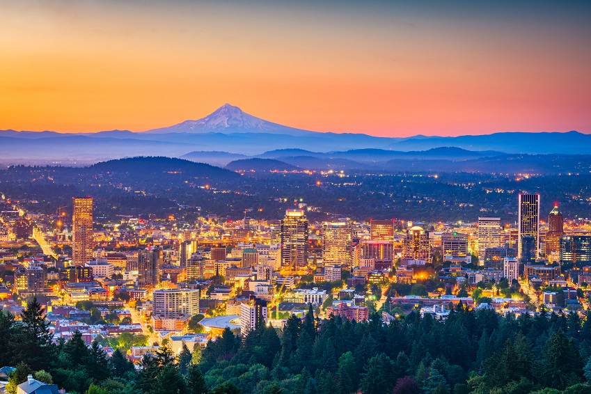 Portland, Oregon, USA Skyline