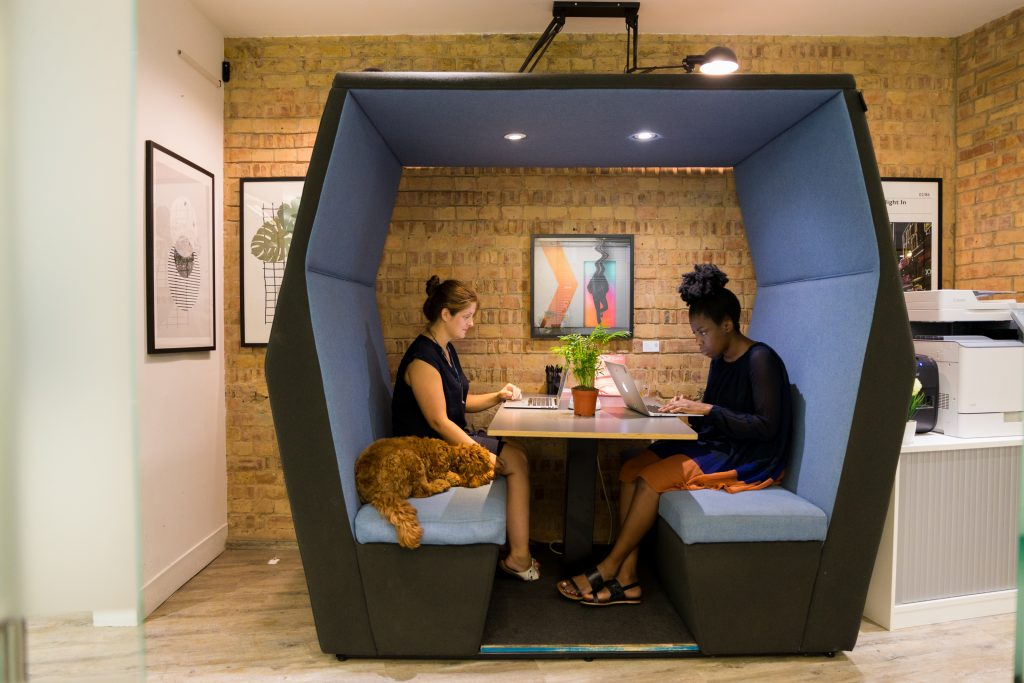 Headspace coworking in Farringdon